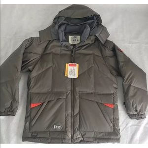 New! Lee jeans Puffer Jacket Down Size L